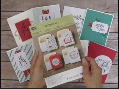 How to Double the Cards from the Watercolor Christmas Card Kit