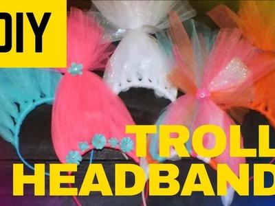 How to make Trolls Headbands - Quick & Easy DIY Trolls Headbands