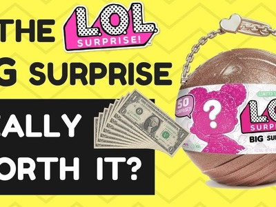 IS THE LOL BIG SURPRISE REALLY WORTH IT?? - TOP CHRISTMAS TOY 2017 - BRAND NEW LOL DOLLS