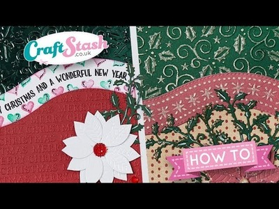 Merry Christmas - Apple Blossom Christmas Collection - by the Crafting Diva