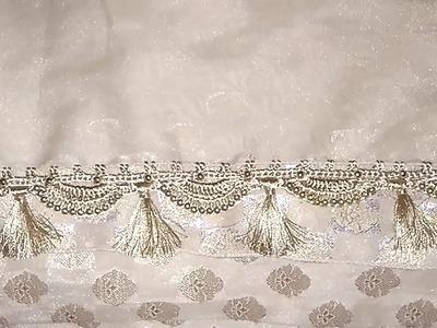 New Krosha saree kuchu design 2 || New crochet saree kuchu 2 || New Krosha saree kuchulu 2