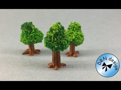 Polymer Clay 1 to 144 - Garden Tree