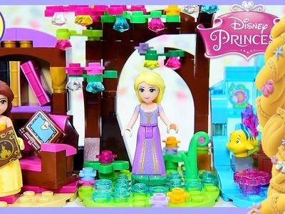 Rapunzel Tiny Diorama Disney Princess Tangled DIY Custom Build Lego Craft Kids Toys