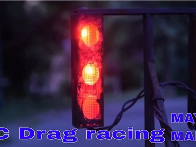 RC Drag Racing Start Lights 1.10th Scale DIY, rusted | MAYER MAKES