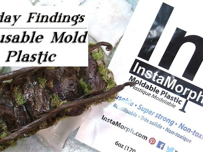 Reusuable Low-Temp Melt Plastic for Polymer Clay & Resin Molds & Molding-Friday Findings