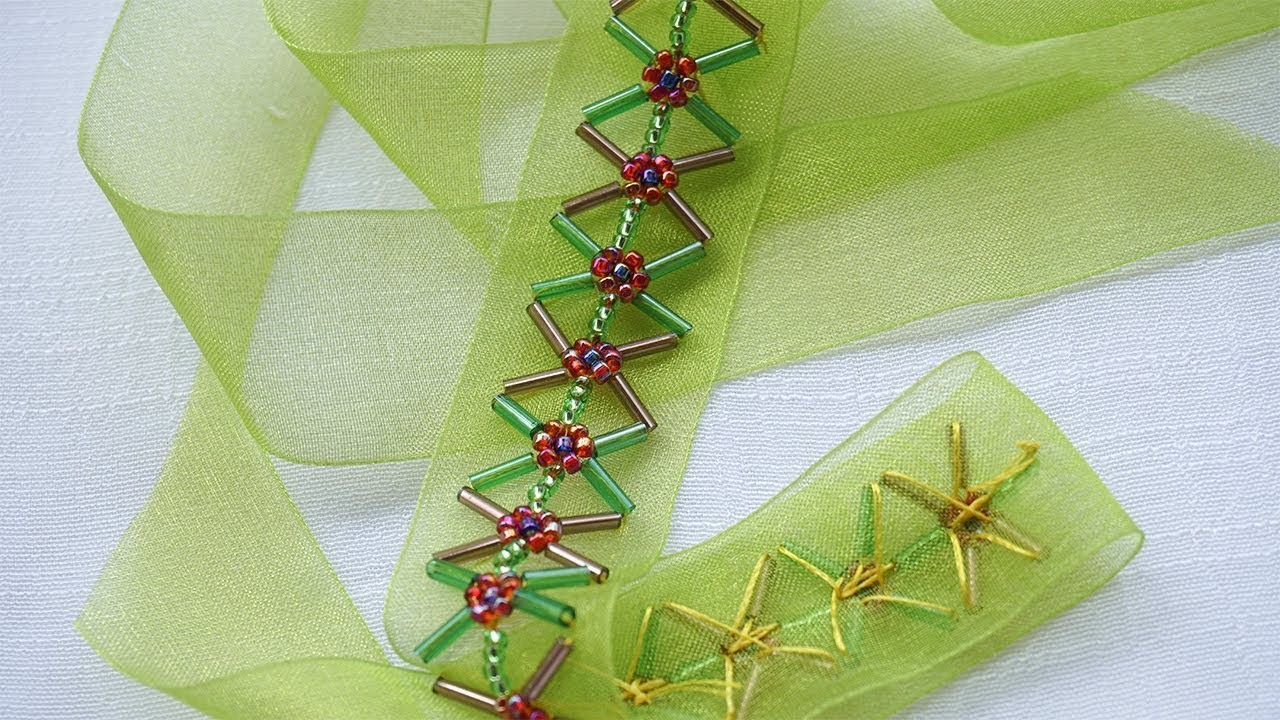 Ribbon Art : Easy DIY Ideas You Need to Try | DIY Stitching