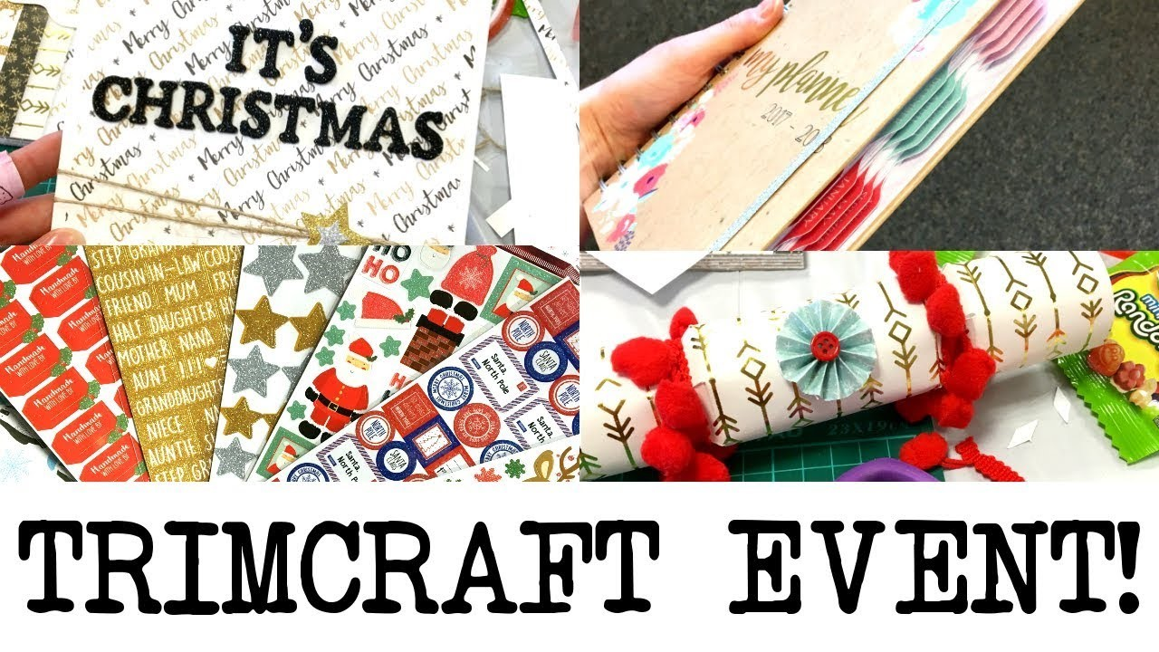 Trimcraft Christmas Bloggers Day Event! 2017 | MyGreenCow