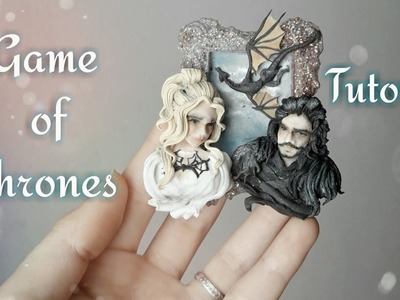 Tutorial Polymer Clay .Game of thrones