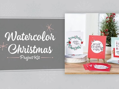 Watercolor Christmas Project Kit by Stampin' Up!