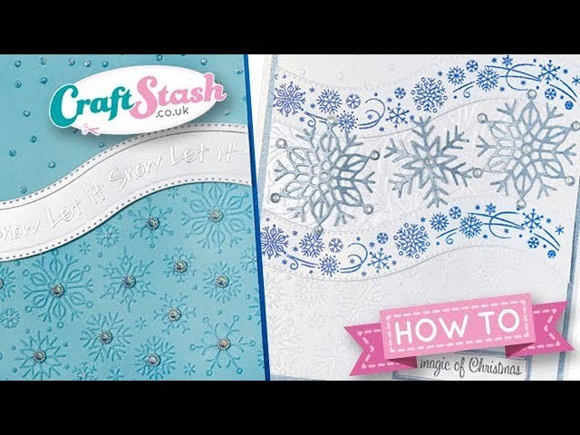 Winter Snow - All Occasion Christmas Collection - by the Crafting Diva