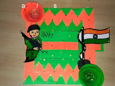 15 august   handmade greeting card at home with easy steps