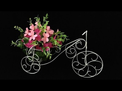 ABC TV | How To Make Flower Bike From Zinc Wire - Craft Tutorial #1