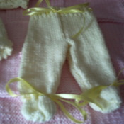 Baby - doll hand crafted set