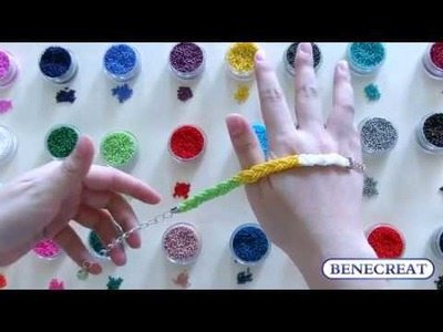 BENECREAT 1 Pack 24 Color 11.0 Seed Beads for Jewelry Making