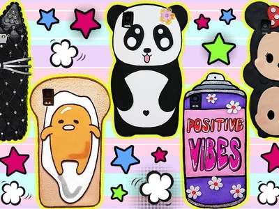 ♥ DIY: Compilation 5 Phone Cases you need to do ♥