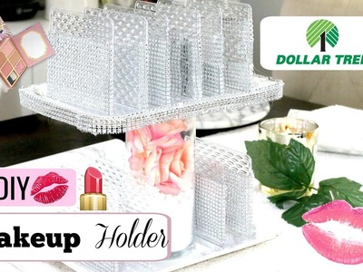 DIY Dollar Tree Makeup ???? Holder