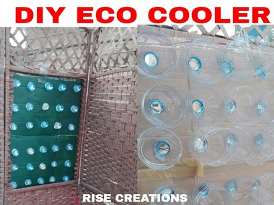 DIY ECO COOLER  \ HOW TO MAKE ECO COOLER \ WITHOUT ANY ENERGY\ RISE CREATIONS