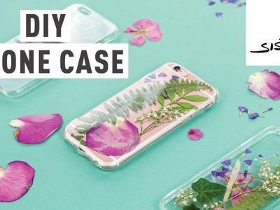 DIY Floral Phone Case #sisterMAGhandmade