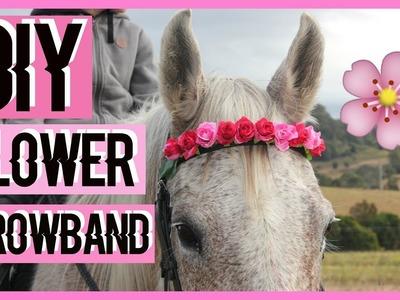 DIY Flower Browband