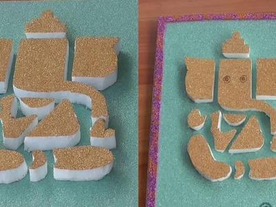 DIY - How To Make Ganpati  By Thermocol    Lord Ganesha Make By Hand