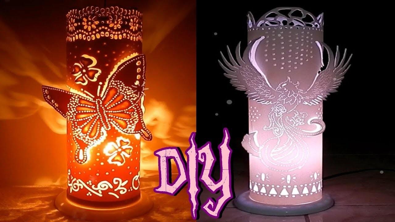 DIY Luminárias de cano de PVC