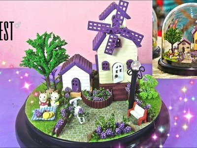 DIY Miniature Dollhouse Kit With Working Lights, Provence | Toys for kids - GearBest