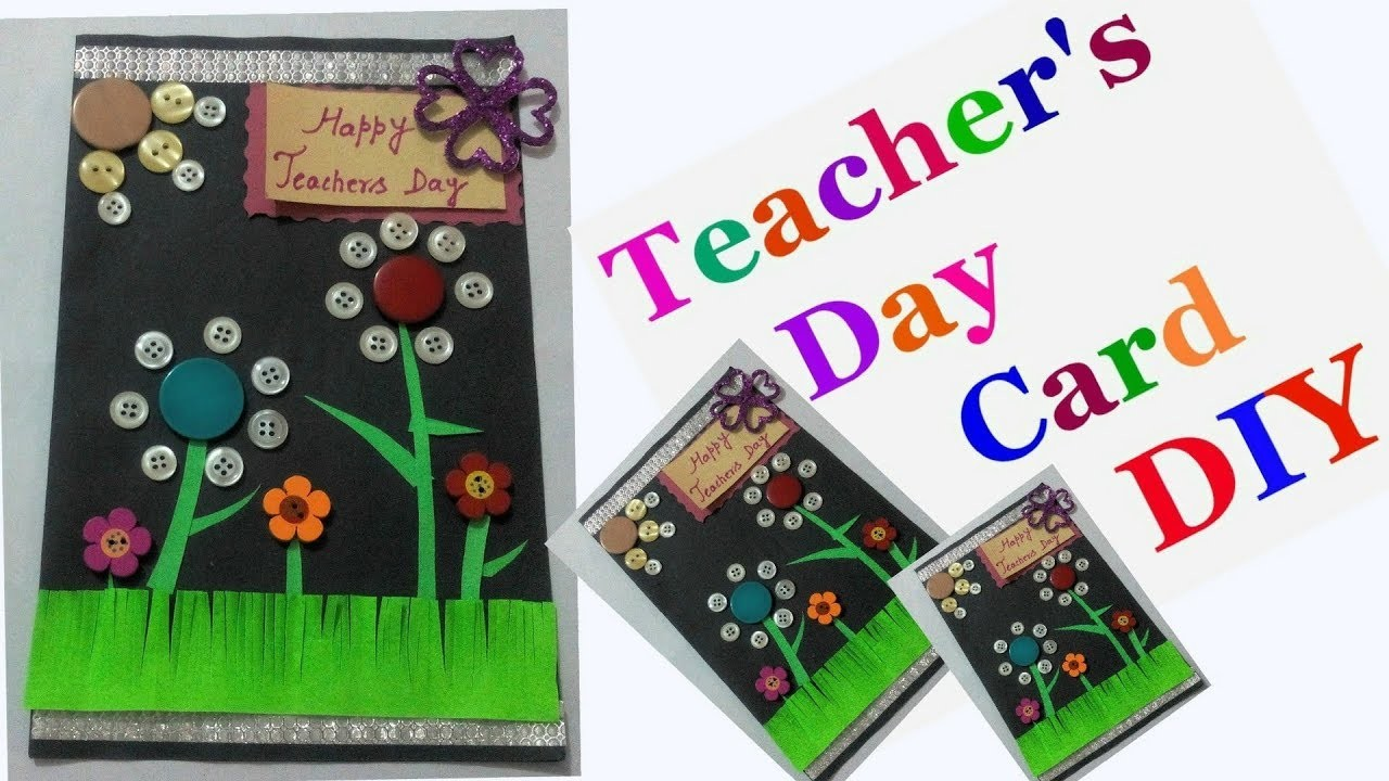 Diy teachers day greeting card making ideas for kids easy handmade diy teachers day greeting card making ideas for kids easy handmade cards for teachers day kristyandbryce Image collections