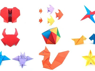 Easy Origami: Easy Origami For Kids #2 | 90 Seconds of Origami