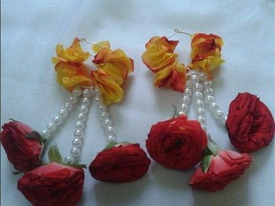 Flower jewellery for wedding funtions | part 2 | handmade | Easy to make |