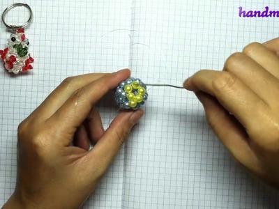 [Handmade02] Beaded beads tutorial: Little chicken