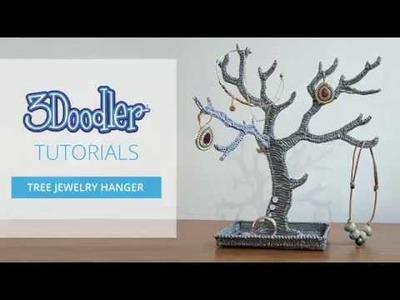 How to Doodle: Tree Jewelry Hanger