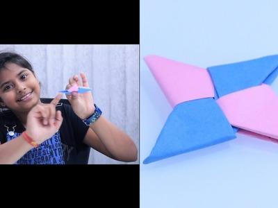 How To Make a Paper Ninja Star (Shuriken) Origami   How To Make A Paper Ninja Star EASY