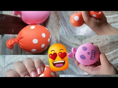 How to make stress ball. . DIY stress ball without slime. India