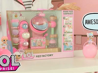 L.O.L. Surprise! | Fizz Factory | Baby Doll Surprise Toys | DIY Charm Fizz Ball Maker Product Demo