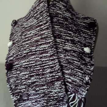 Ladies hand crafted chunky scarf