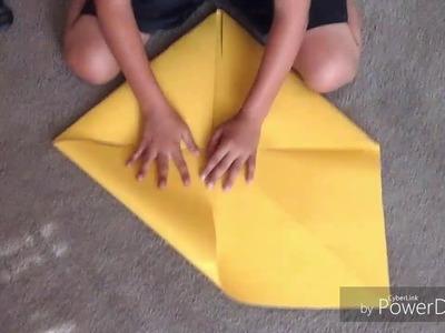 Making a Big FORTUNE TELLER origami !!!
