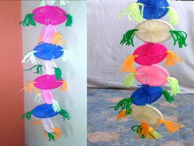 Old bangles Craft Wall hanging Best out of waste from Bangles