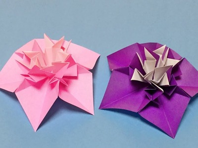 Beginners origami easy but beautiful how to make a paper flower origami easy but beautiful how to make a paper flower for mightylinksfo