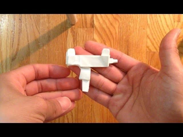 Origami mini uzi part 1 of 2