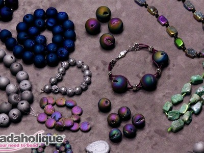 Show and Tell: Gemstone Geode Beads
