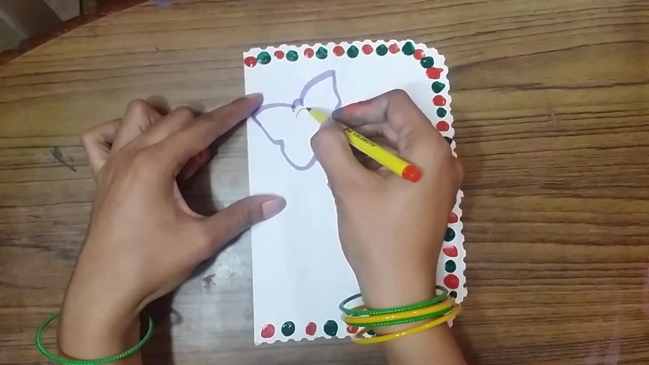 Teachers Day Handmade Greeting Card Making Idea For School Students