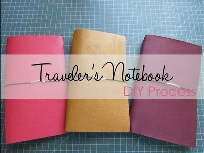 Traveler's Notebook - DIY Process