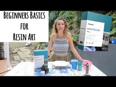 Beginners Basics for Resin Art | Resin Art Tutorial
