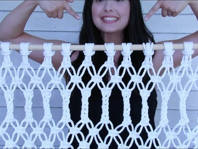 Dekiru DIY : Macrame Door Hanger for under $50