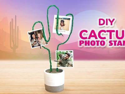 DIY Cactus photo stand