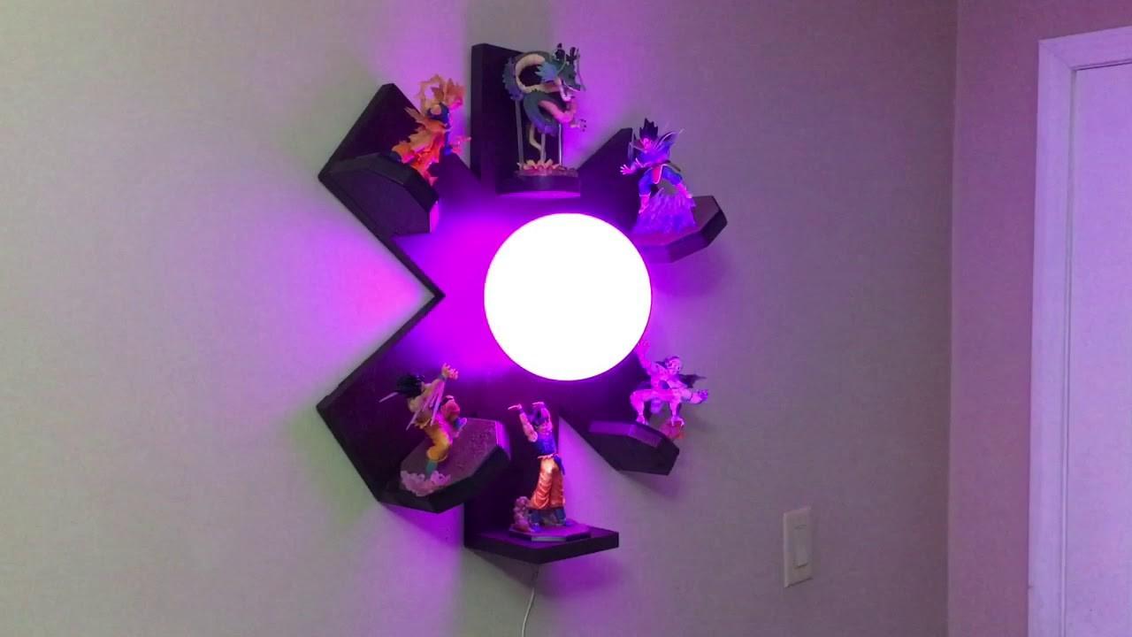 DIY DBZ LED Lamp