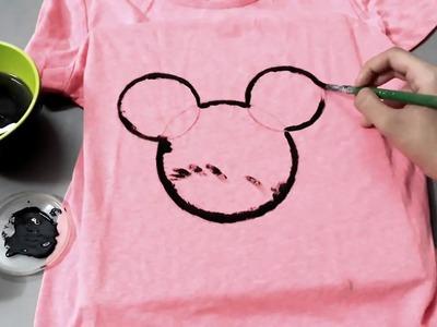 DIY Disney Inspired T-shirt