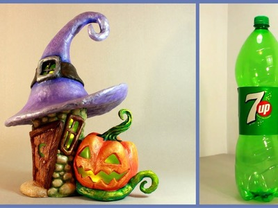 ❣DIY Halloween Fairy House Lamp Using a Plastic Bottle❣