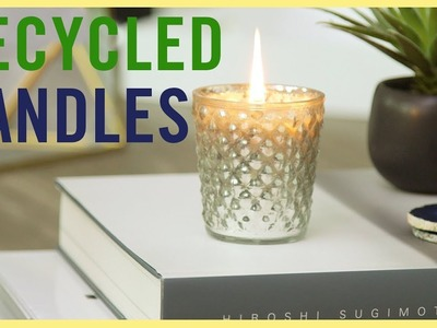 DIY | How to Recycle Old Candles