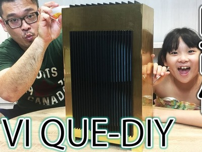 史上第一台DIY組裝清淨機VI QUE-DIY組合式空氣清淨機.Build your own air cleaner VI QUE-DIY[NyoNyoTV妞妞TV玩具]